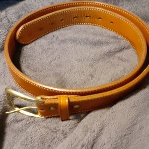 Mens Galco leather Belt size 44